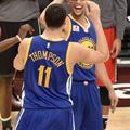 klay thompson steph curry