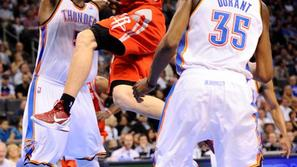 Dragić Durant Perkins Oklahoma City Thunder Houston Rockets liga NBA