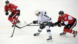 Kopitar Corvo Zibanejad Ottawa Senators Los Angeles Kings liga NHL