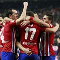 Atletico Madrid veselje