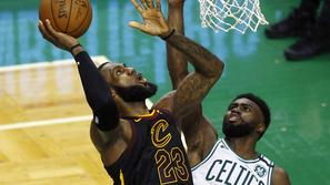 lebron james cleveland cavaliers boston celtics