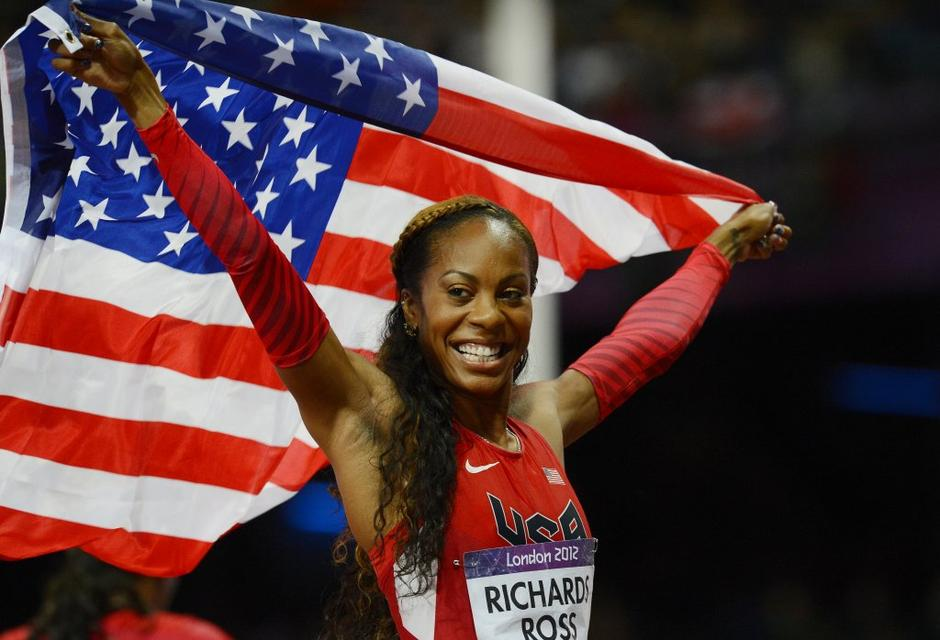 Sanya Richards-Ross london 2012 | Avtor: EPA