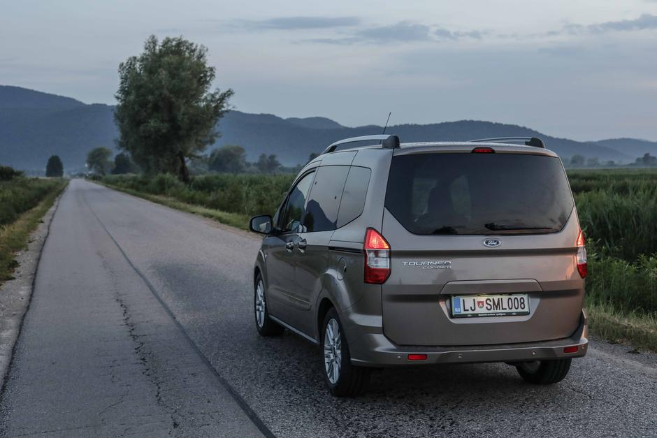 Ford Tourneo Courier | Avtor: Saša Despot