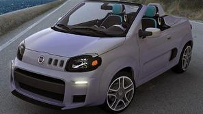 Koncept fiat uno roadster