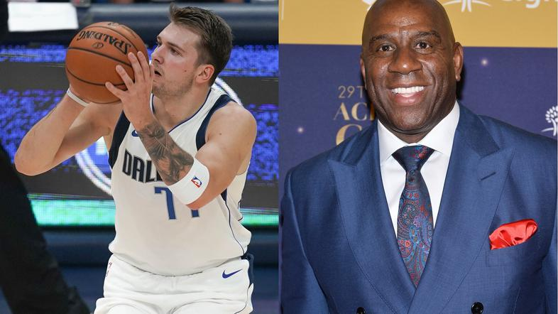 Magic Johnson in Luka Dončić