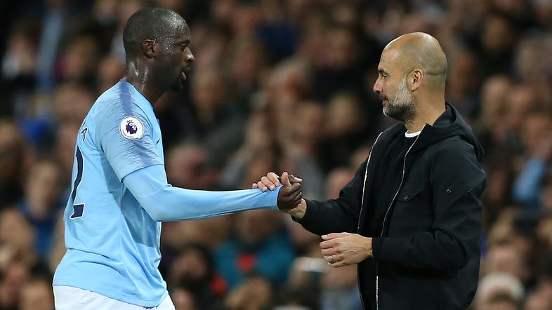 pep guardiola yaya toure
