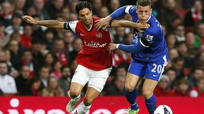 arsenal everton arteta barkley