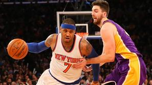 carmelo anthony la lakers new york knicks
