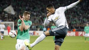 Robert Berić Chris Smalling St. Etienne Manchester United