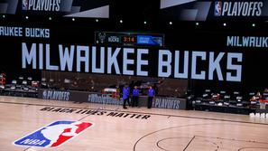 Bucks Magic bojkot NBA