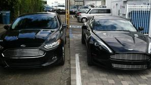 Aston Martin in Ford mondeo