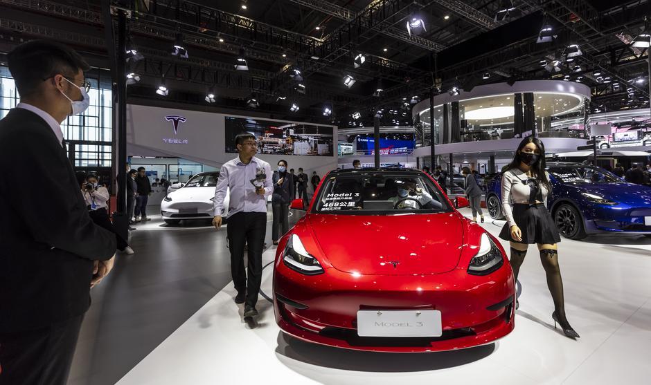 Avtomobilski salon v Šanghaju | Avtor: Epa