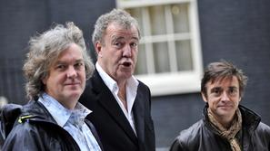 scena 09.04.14. top gear,  Jeremy Clarkson, Richard Hammond in James May, Top Ge