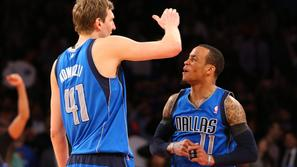 Dirk Nowitzki Monta Ellis New York Knicks Dallas Mavericks