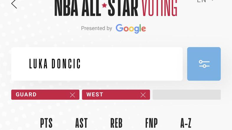 Luka Dončić all-star