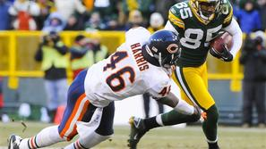 Green Bay Packers so Chicago Bears pred tremi tedni na domačem Lambeau Fieldu pr