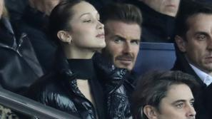 bella hadid, david beckham