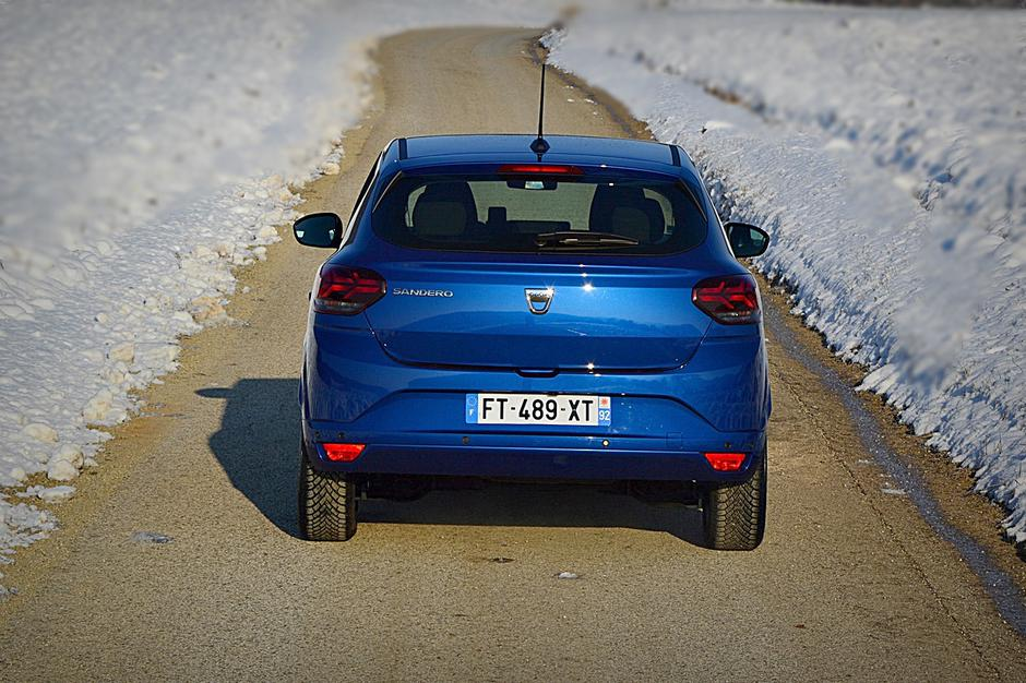 Dacia sandero | Avtor: Andrej Leban