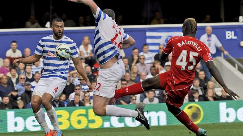 Dunne Balotelli QPR Liverpool EPL