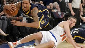 Hill Udrih New York Knicks Indiana Pacers liga NBA