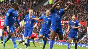 Wes Morgan Manchester United Leicester City