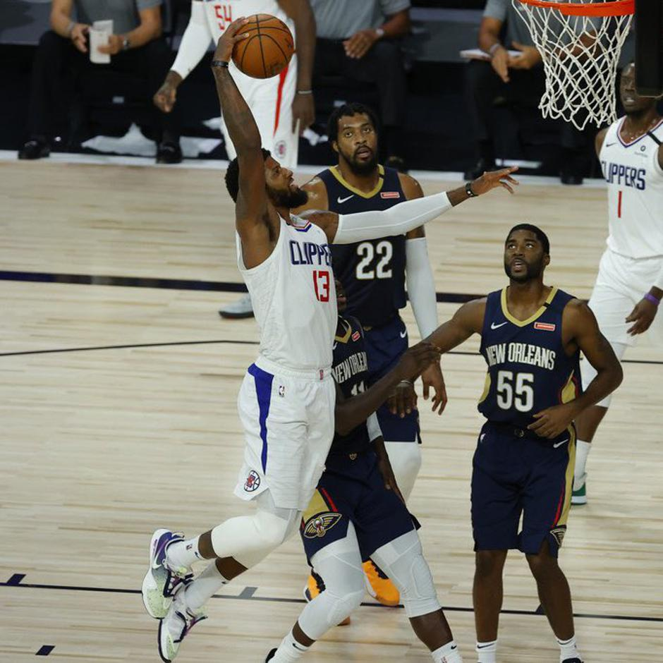 Paul George Clippers Pelicans | Avtor: Twitter