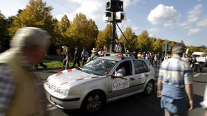 TZavto 12.10.10, Google Car, street view, foto: reuters