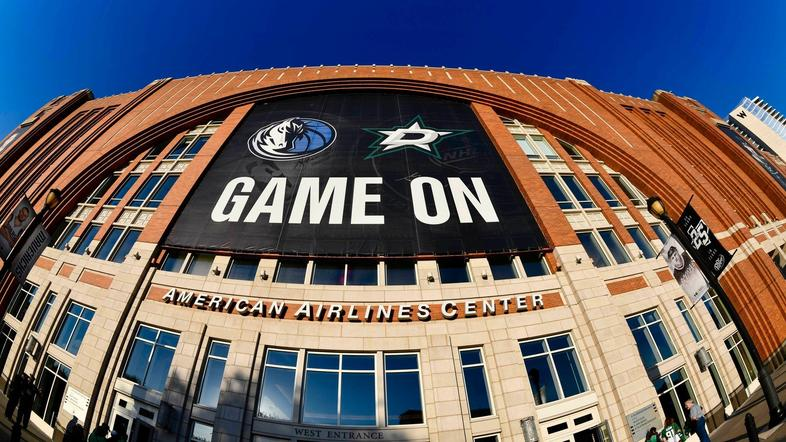 american airlines center dallas mavericks