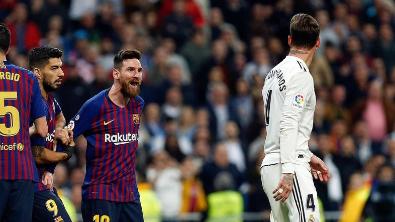 Messi in Ramos