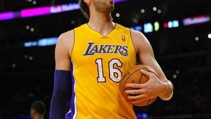 Gasol Los Angeles Lakers Clippers mestni derbi NBA