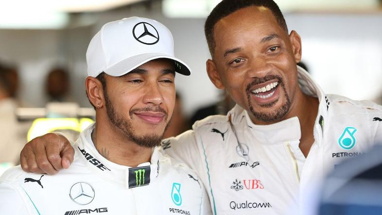 Lewis Hamilton, Will Smith