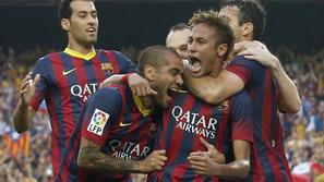Neymar Alves Barcelona Real Madrid