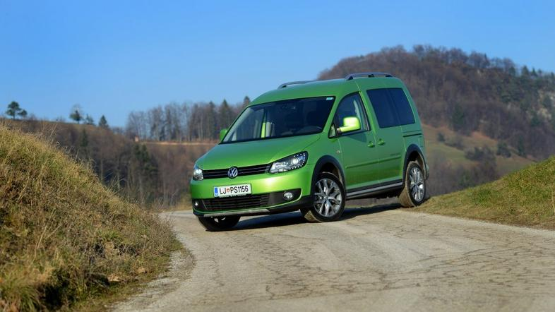 Volkswagen caddy cross