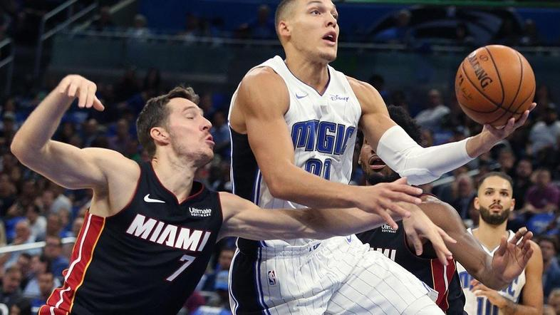 Goran Dragić Aaron Gordon Orlando Magic Miami Heat