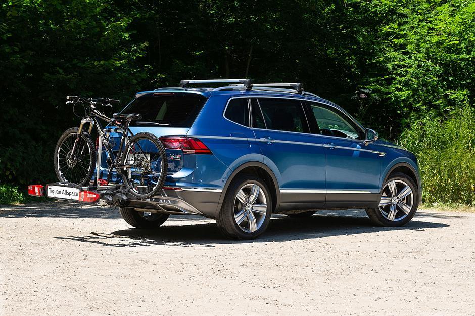Prtljažnik za kolo | Avtor: VW