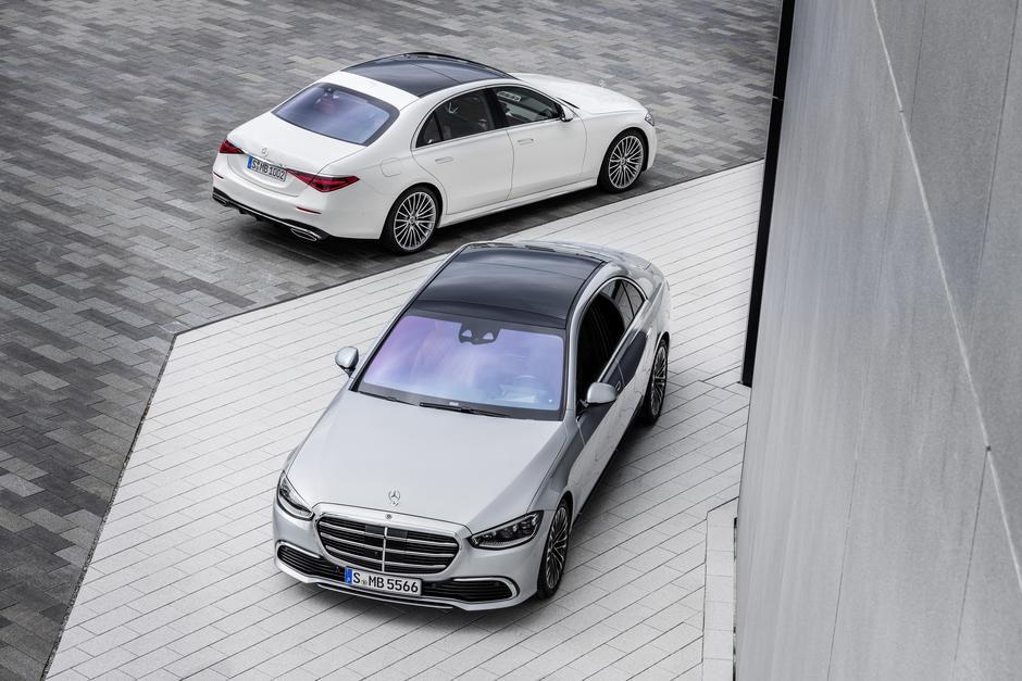 nercedes-benz razred S   Avtor: Daimler