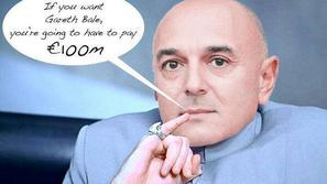 Daniel Levy Tottenham Bale Real Madrid Dr Evil Austin Powers