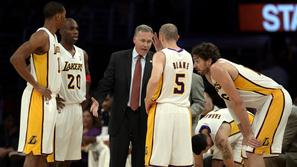 Mike d'antoni los angeles lakers