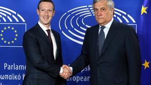 Mark Zuckerberg Antonio Tajani