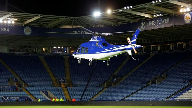 Leicester City helikopter