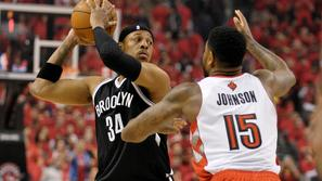 Pierce Johnson Toronto Raptors Brooklyn Nets liga NBA končnica