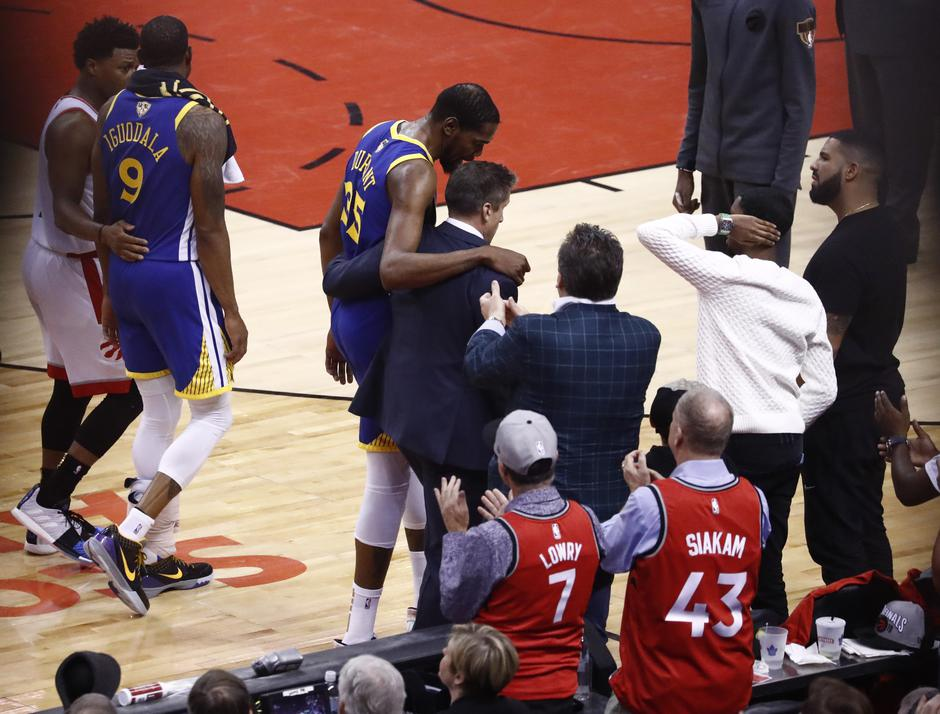 Kevin Durant Raptors Warriors | Avtor: Epa