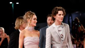 Lily-Rose Depp, Timotee Chalamet