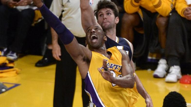 Kobe Bryant zadnja tekma Los Angeles Lakers Utah Jazz