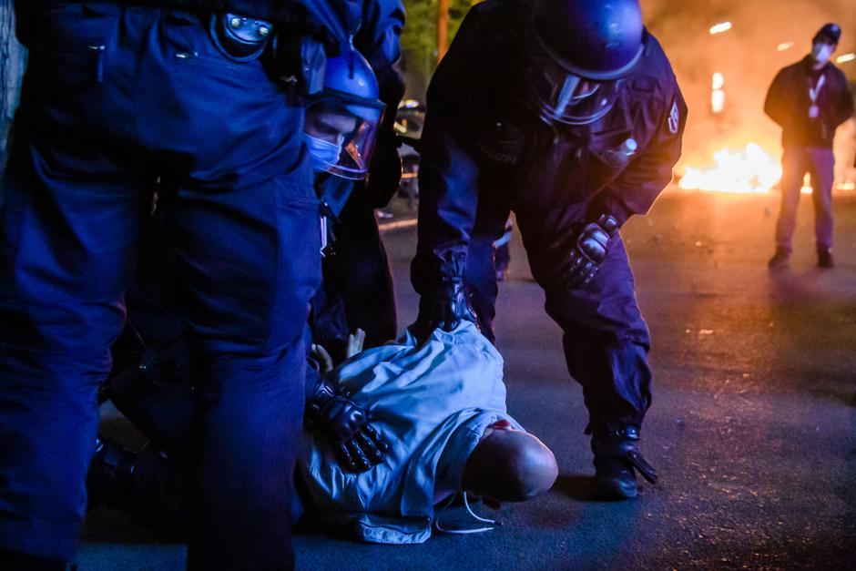 Protesti v Berlinu | Avtor: Epa