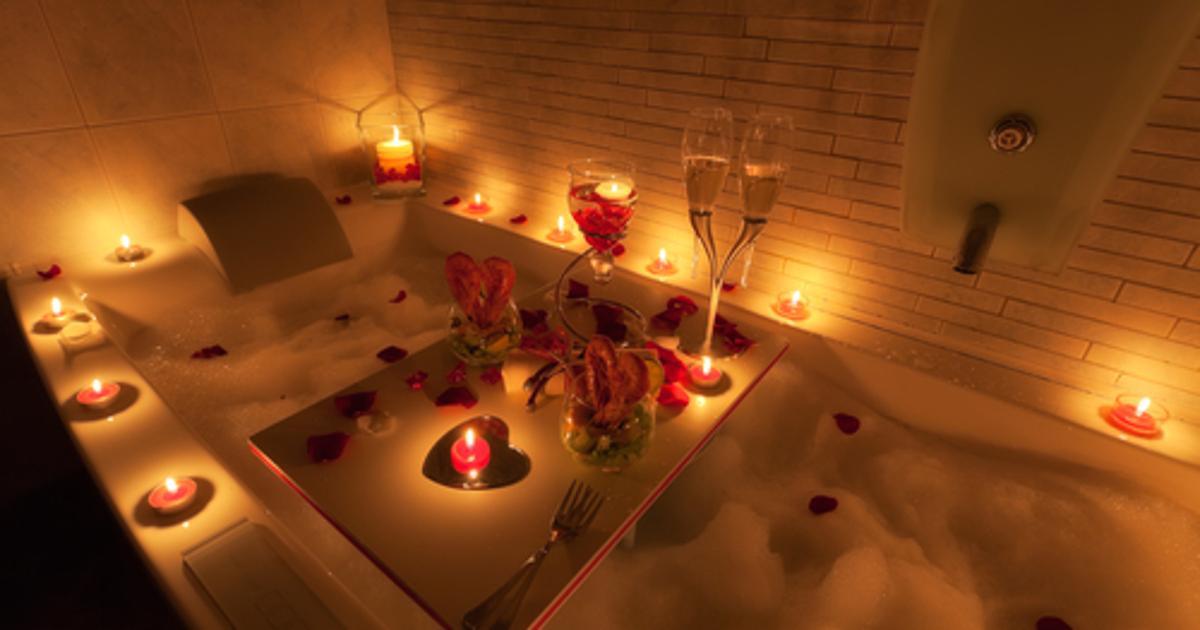 romantic bathtub pics - 1000×667