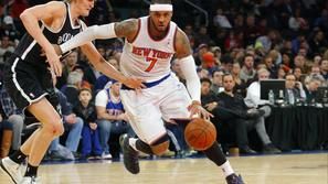 Kirilenko Carmelo Anthony New York Knicks Brooklyn Nets