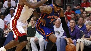 LeBron James in Carmelo Anthony