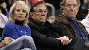 Donald Sterling George Segal Shelly Clippers