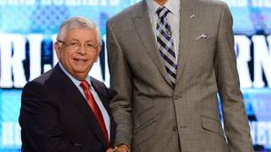 anthony davis david stern